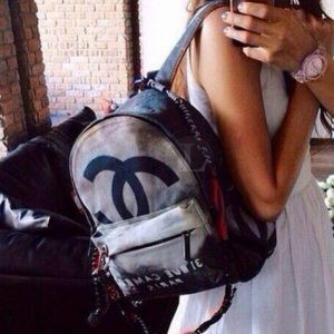 Replica Chanel Graffiti Backpack Medium