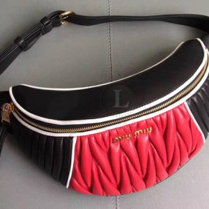Replica  Miu Miu Rider Belt Bag