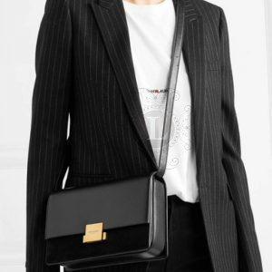 Replica YSL Saint Laurent Bellechasse Black