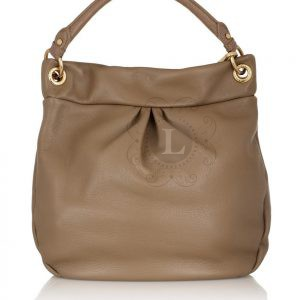 Replica Marc by Marc Jacobs Classic Q Hillier Hobo Bag Coffee