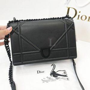 Replica Dior Diorama Studded All Black