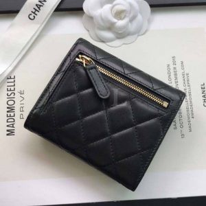 Replica Chanel Classic Small Flap Wallet Hellgold
