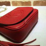 Replica Gucci Soho Chain Shoulder Red Bag