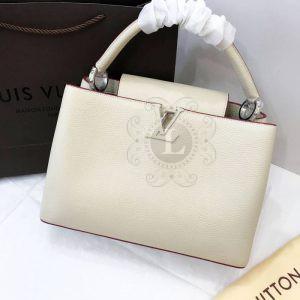 Replica Louis Vuitton Capucines White