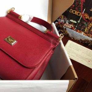 Replica Dolce & Gabbana Sicily Dark Red