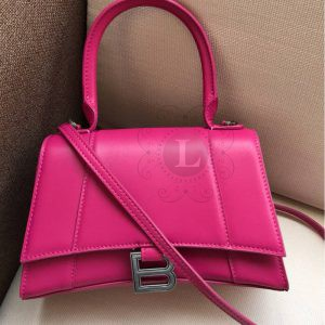 Replica Balenciaga Hourglass Small Top Chanele Bag Hot Pink