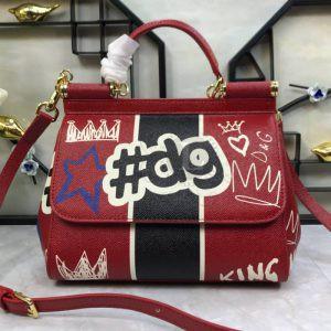 Replica Dolce & Gabbana Sicily Hashtag DG Print