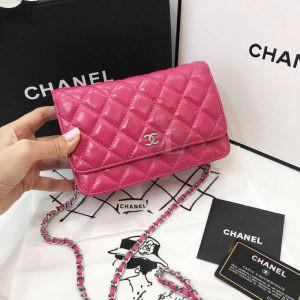 Replica Chanel WOC Fuchsia