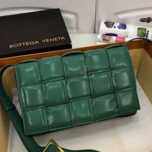 Replica Bottega Veneta Padded Cassette Bag Green