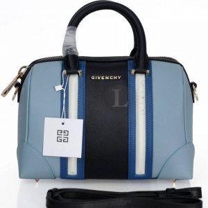Replica Givenchy Black and Blue Lucrezia Bag
