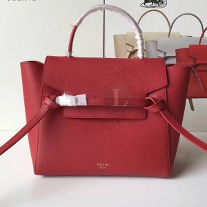 Replica Celine Belt Bag Red