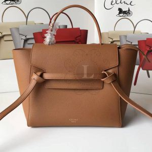 Replica Celine Belt Bag Brown