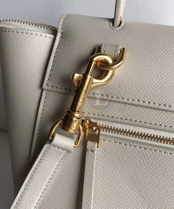 Replica Celine Belt Bag Dark White