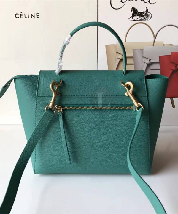 Replica Celine Belt Bag Green