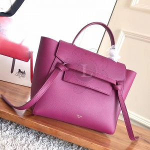 Replica Celine Belt Bag Fuchsia