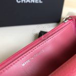 Replica Chanel WOC Wallet On Chain Caviar Coral Pink