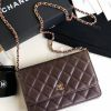 Replica Chanel WOC Wallet On Chain Bordeaux