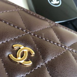 Replica Chanel WOC Wallet On Chain Bordeaux