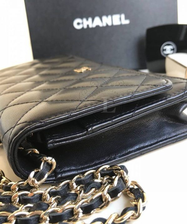 Replica Chanel WOC Wallet On Chain Black
