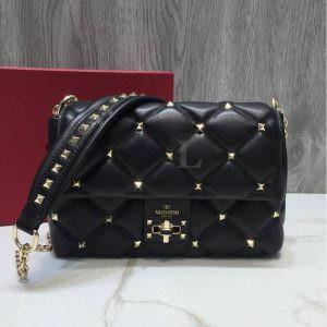 Replica Valentino Garavani Candystud Medium Shoulder Bag