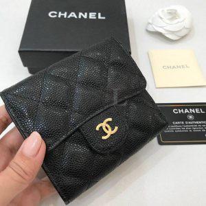 Replica Chanel Classic Small Flap Wallet Caviar