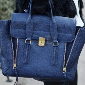 Replica 3.1 Phillip Lim Medium Pashli Navy Blue