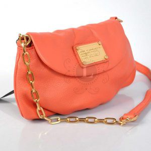 Replica Marc By Marc Jacobs Classic Q Karlie Bag Coral