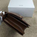 Replica Celine Classic Box Shoulder Bag Brown