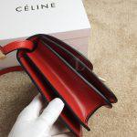 Replica Celine Classic Box Shoulder Bag Red