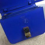 Replica Celine Classic Box Shoulder Bag Blue