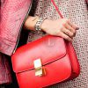 Replica Celine Classic Box Shoulder Bag Red