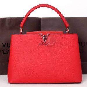 Replica Louis Vuitton Capucines Red