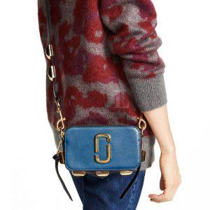 Replica Marc Jacobs Studded Snapshot Small Camera Bag