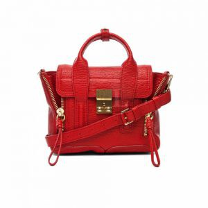 Replica 3.1 Phillip Lim Mini Pashli Red