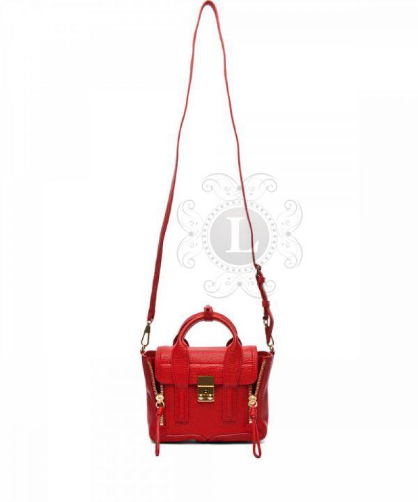 Replica 3.1 Phillip Lim Mini Pashli Red