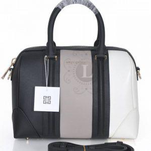 Replica Givenchy Grey and White Lucrezia Bag