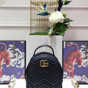 Replica Gucci GG Marmont Quilted Leather Backpack