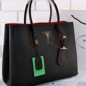 Replica Prada Cuir Double Bag