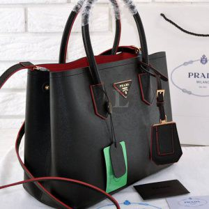 Replica Prada Cuir Double Bag ()