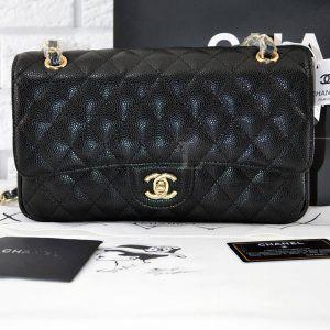 Replica Chanel Medium Caviar Black Bag