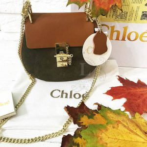 Replica Chloe Drew Mini Khaki