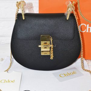 Replica Chloe Drew Mini Black