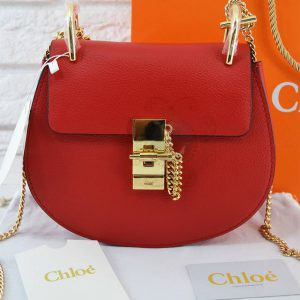 Replica Chloe Drew Mini Red