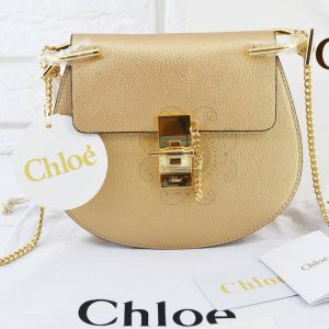 Replica Chloe Drew Mini Gold