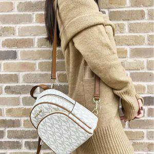 Replica Michael Kors Abbey Vanilla Backpack