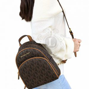 Replica Michael Kors Abbey Acorn Brown Backpack