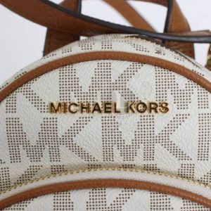 Replica Michael Kors Abbey Signature Studded Backpack