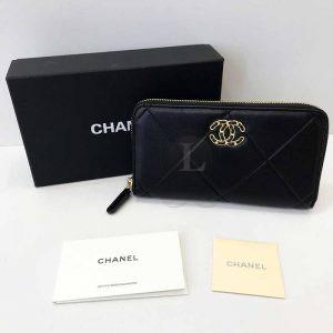Replica Chanel 19 Flap Long Flap Wallet