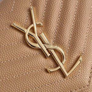 Replica YVES Saint Laurent Envelope Chain Wallet Beige