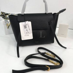 Replica Celine Belt Bag Black